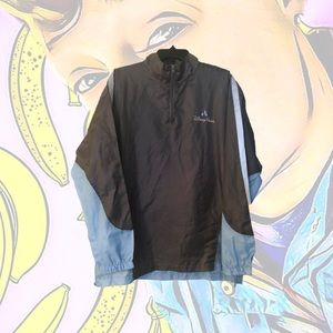 NWOT Disney Parks Embroidered Windbreaker Pullover